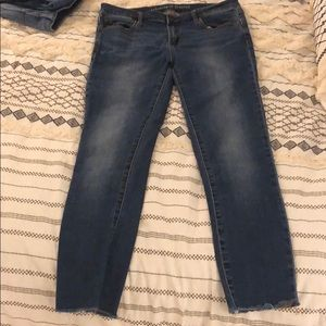 Articles of society is Sarah cropped hem jeans
